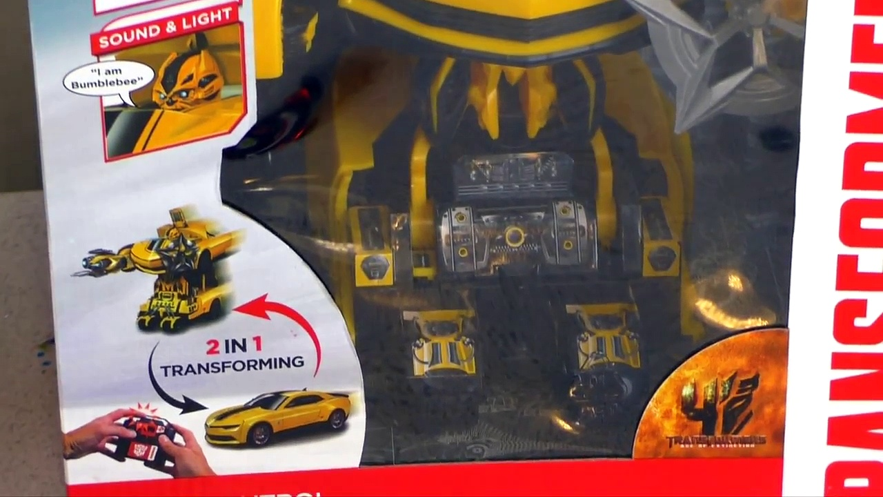 Costco Exclusive Transformers Battle Ops Bumblebee Video Review