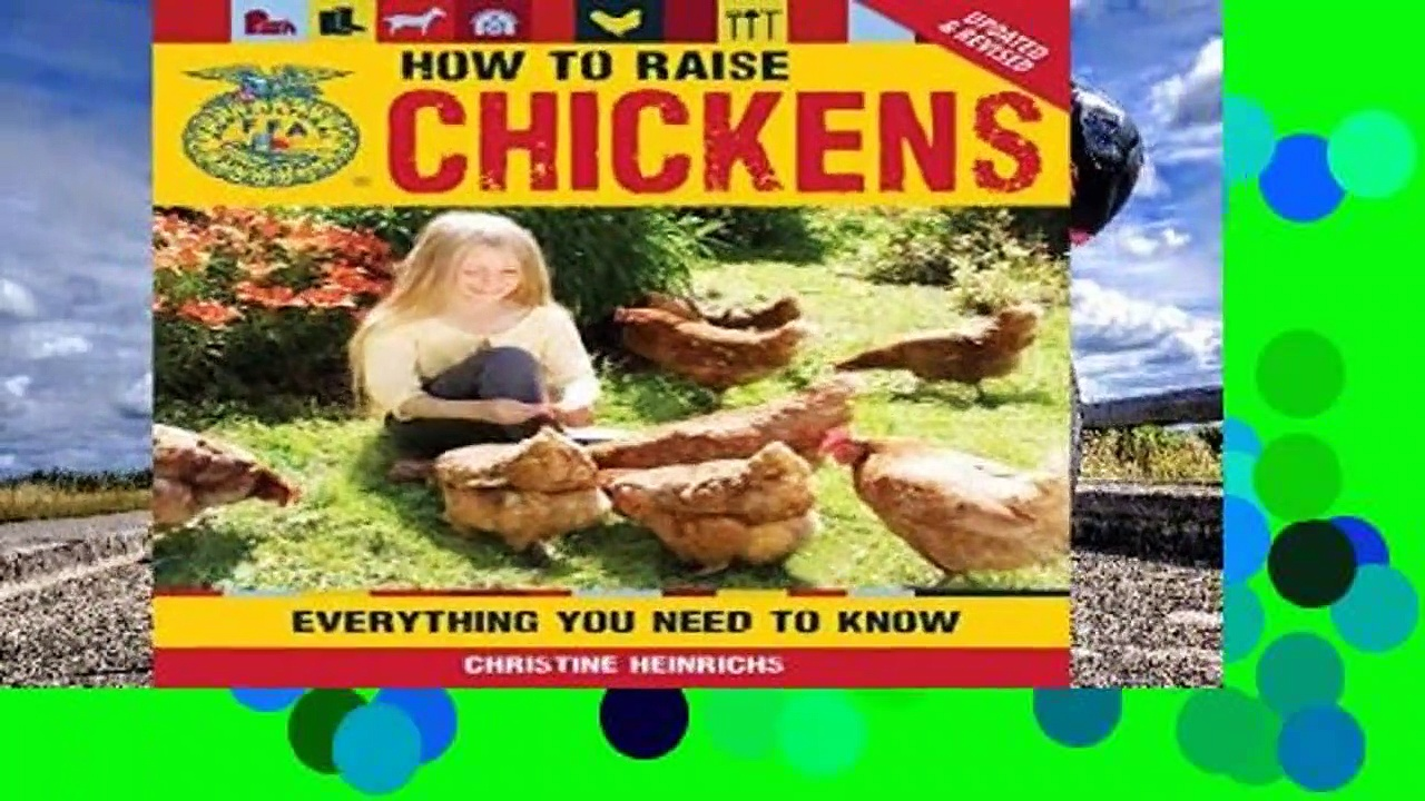 Review  How to Raise Chickens: Everything You Need to Know, Updated   Revised (FFA) – Christine