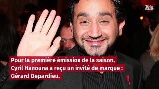 TPMP : Gérard Depardieu plante en direct la blague de Cyril Hanouna