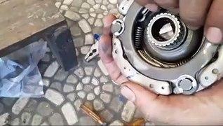 Cara Merakit Kopling Honda Supra 125