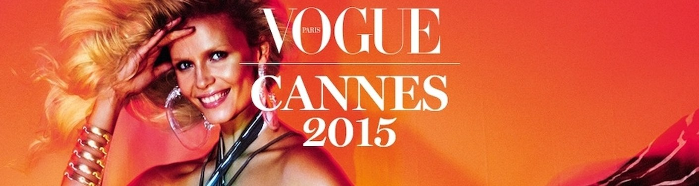 Vogue Paris - Cannes 2015