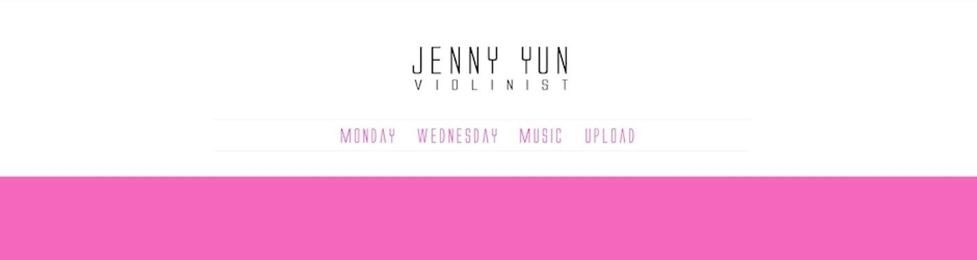 Violinist Jenny Yun