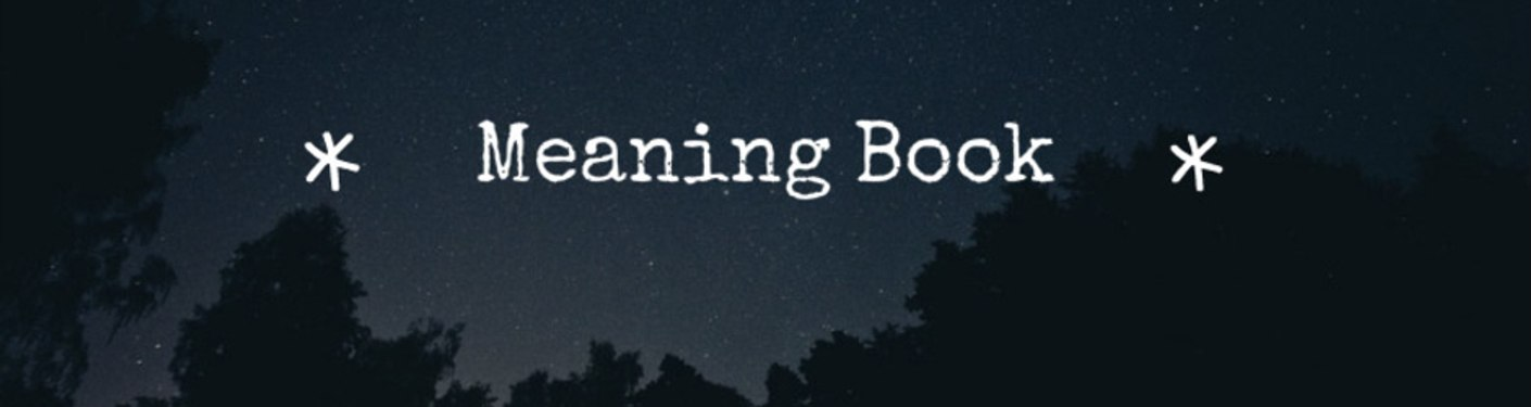 Meaning Book