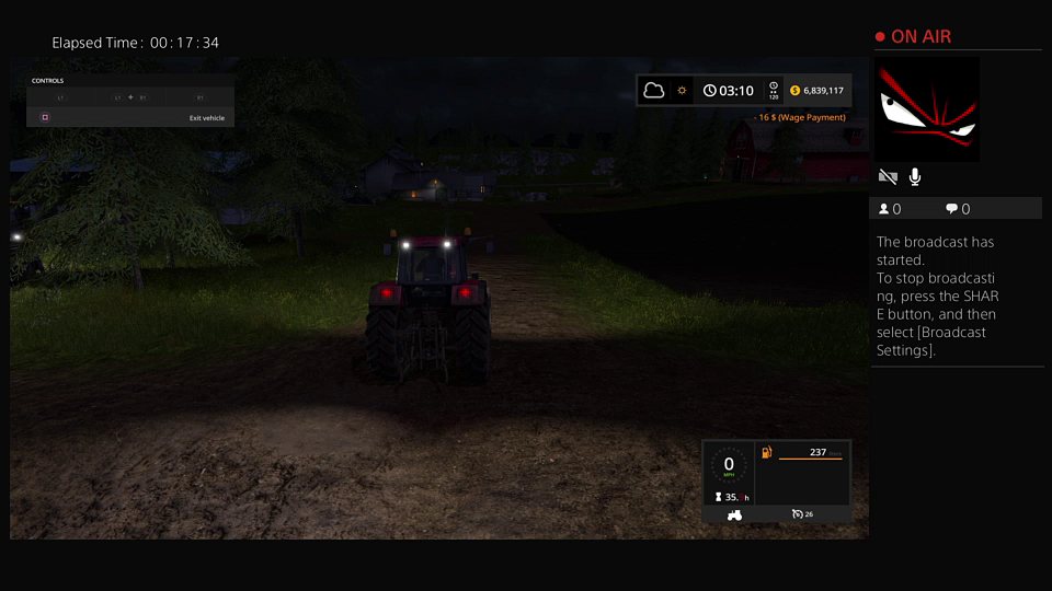 Farming simulation