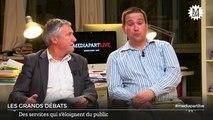 Mercredi, 20h. «En direct de Mediapart»: quel avenir pour les services publics?