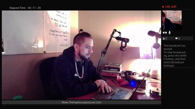 The Trap House Podcast Studios LIVE