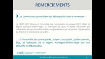 Débat public NFL - Atelier/débat - Réunion de Cloture - 11/07/2019