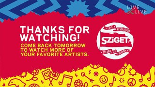 Highlighted performances from Sziget Festival 2019