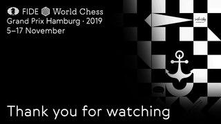 FIDE World Chess Grand Prix Hamburg 2019. Round 2. Tie-breaks.
