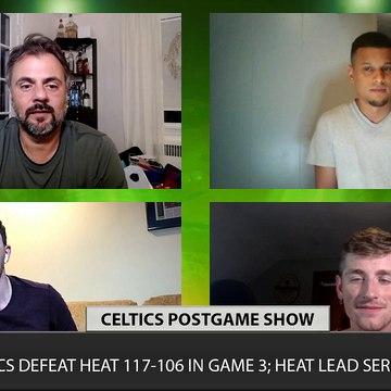 Celtics vs Heat Game 3 LIVE CLNS Media Postgame Show