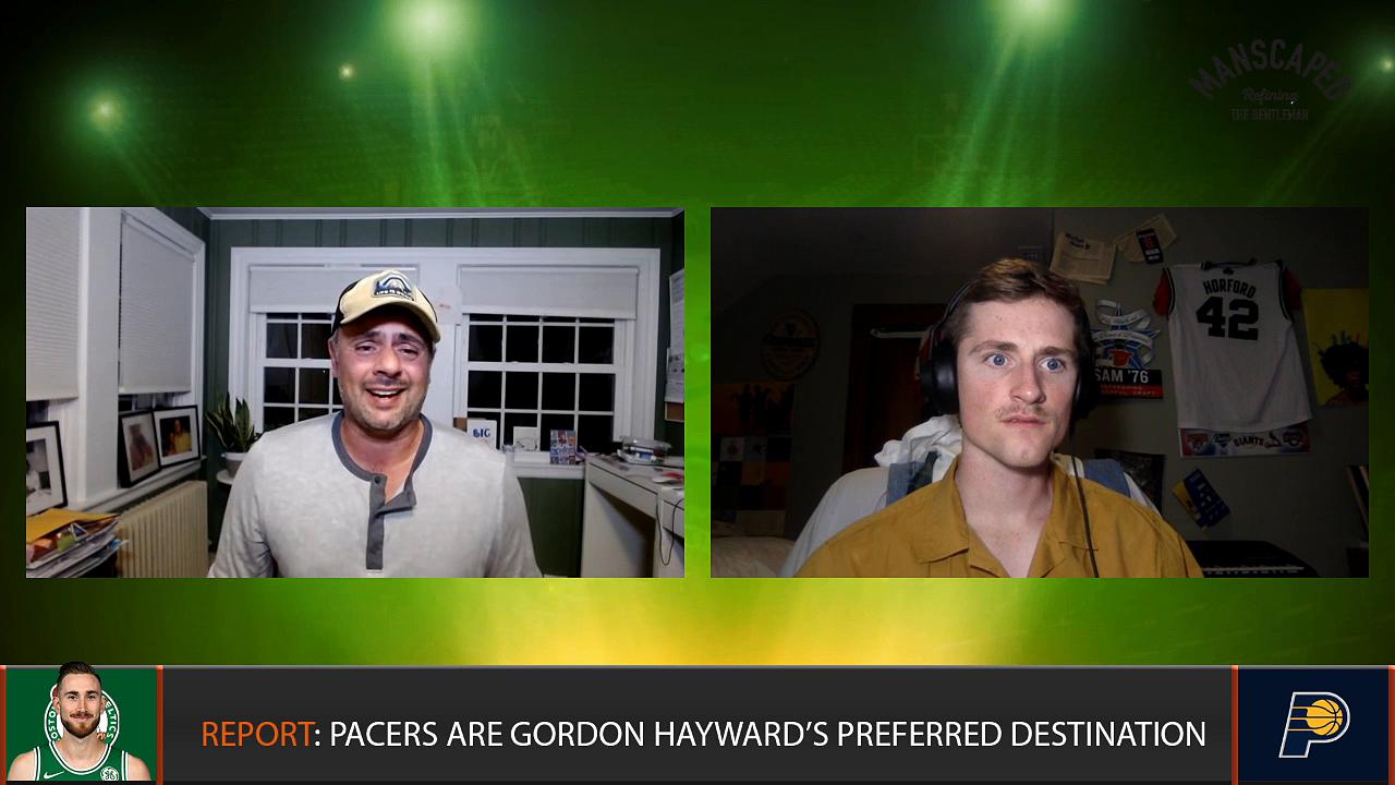 NBA Free Agency Show: Where will Gordon Hayward End Up?