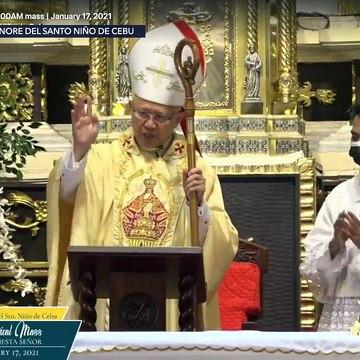 Fiesta Señor 2021 Pontifical Mass in Cebu City