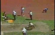 Athlétisme triple saut Charlie Simpkins 17m91