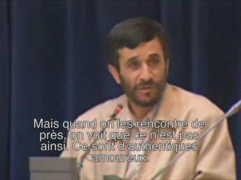Video clandestine sortie d'Iran: Ahmadinedjad sans masques