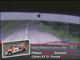 Rallye Plaine et cimes 2009 ES2  CAPON / ELET