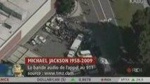 Décès de Michaël Jackson: la bande audio de l'appel au 911
