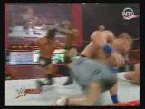 RAW big show vs jhon cena vs randy orton vs hhh. part2