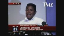 Michael Jackson - Annonce disparition par Jermaine