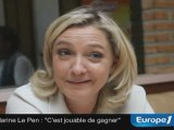 """Hénin-Beaumont : """"c'est jouable"""" pour Marine Le Pen"""