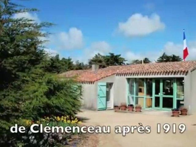 Maison de Georges Clemenceau (HD) en Vendée face à l'Océan A