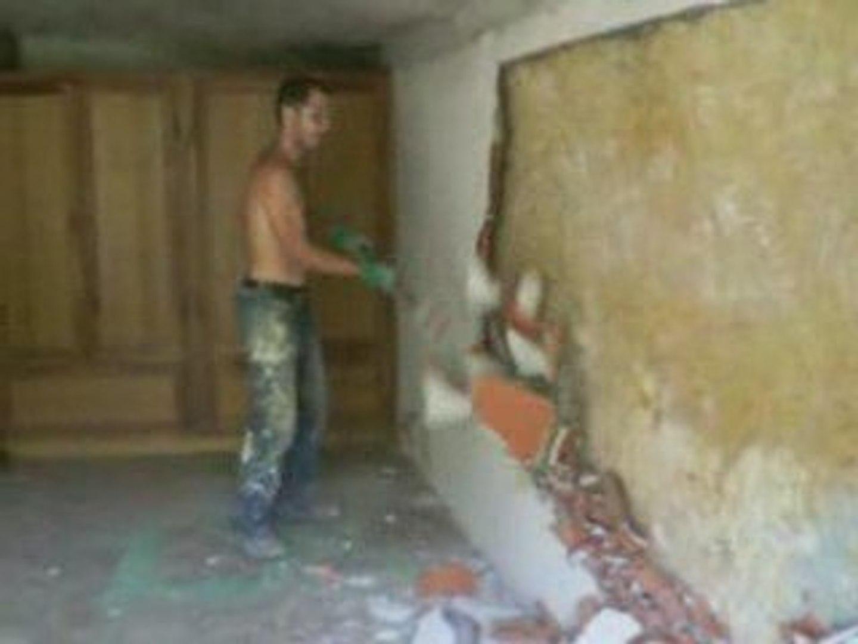 Casser Une Cloison En Brique casser une cloison en brique