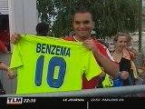 Football : Karim Benzema signe au Real Madrid (Lyon)