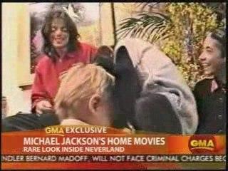 M.Jackson Rare home movies