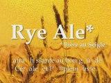 RYE ALE bière Ninkasi de l'été