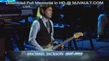 "John Mayer ""Human Nature"" @ Michael Jackson Memorial"