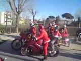 Sortie père noêl motards Monpellier 2008 2