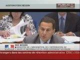 SEANCE,Audition d'Eric Besson par la commission des finances