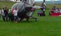 Seb LOEB pilote son HELICOPTERE perso !!! C4 wrc rallye