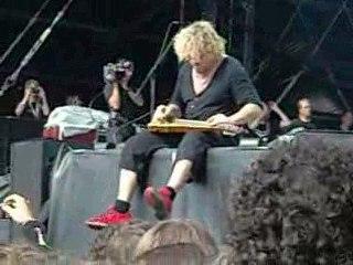 chickenfoot gmm 2009 lap steel guitare sammy hagar