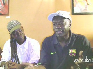 Interview Omar Pene guest star Fallou Dieng - Paris 06/09