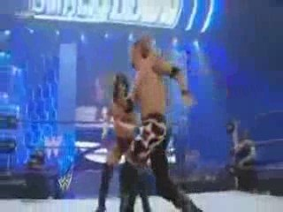CM Punk And Rey Mysterio vs Chris Jericho And Edge P2