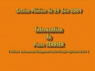 Intervention Pierre Terrier