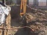 pelleteuse et chantier 2