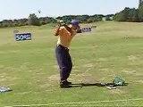 Jeev Milkha Singh au practice de golf du National