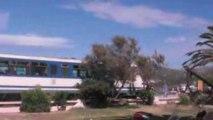 Passe le train à Ile-Rousse