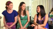 Michaela & Sarah Interview Fashion Model April Rose Pengilly
