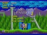 Sonic Walkthrough 3)Un boss tout feu, tout flamme