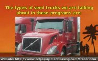 Start Up Financing, Semi Trucks, Big Rig Trucks, and Over th