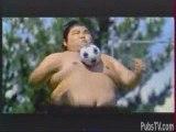 Pub - Publicité  Pepsi - Sumo Football