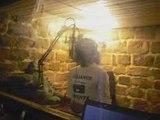 """ABENAKI en enregistrement du son """"LE MONDE EST CRU"""""""