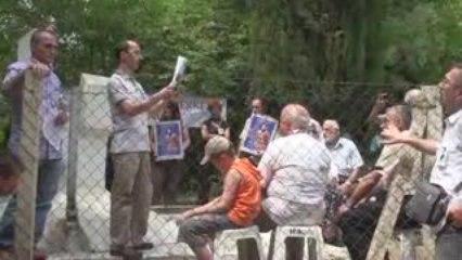 Ahmet ÖZKAN MELAŞVİLİ'nin Anması. 5 Temmuz 2009-Hayriye Köyü