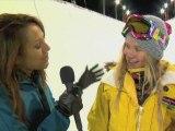 Hannah Teter * Winter Dew Tour * Mount Snow Vermont