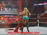 Catch Attack Raw du 8/07/10-Kelly Kelly VS Nikki Bella