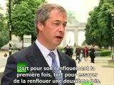 Nigel Farage enterre l'euro