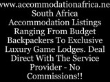 Accommodation South Africa, Travel South Africa, Budget accommodation South Africa, Luxury Accommodation South Africa