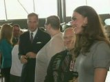 Royal couple chat to Canada war veterans